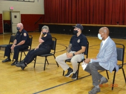 Photo From Town Hall Police Meeting